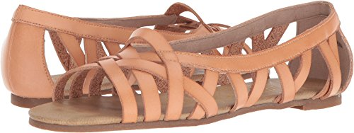 (Blowfish Women's Dirry Flat Sandal Blonde Dyecut 7 M US)