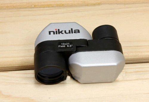 Roilois hd 10 fach super mini tasche teleskope 21mm