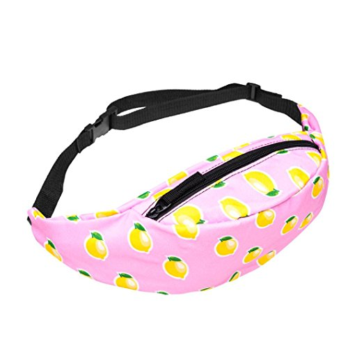 Fashion Belt Waist Bag Pouch Zipper Fanny Pack for Women Men Rave Festival Beach Sports Hiking Running - Womens Eyeglass 2017 Trends