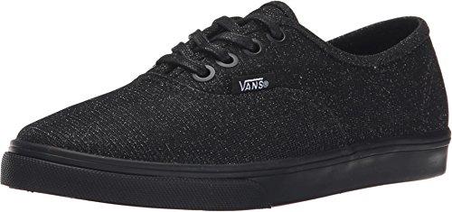 New Vans Authentic Glitter Textile Black 13 Kids Shoes