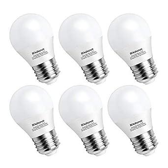 Non Ampoule Led E27 600lm 265v 6w Halogène Equivalent G45 60w Dimmableclasse Globe Kakanuo Energétique Froid Ac 85 A Culot Blanc 5000k QrWxdCoeEB