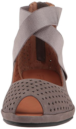 Cutouts Elephant Women's Star Gentle Pump Souls Peep Toe Demi with Lisa Wedge zgPqA