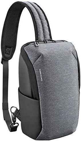 Kingsons Anti Theft Little Sling Bag 11 inch Laptop Sling shoulder backpack Small Chest Crossbody Shoulder Bag