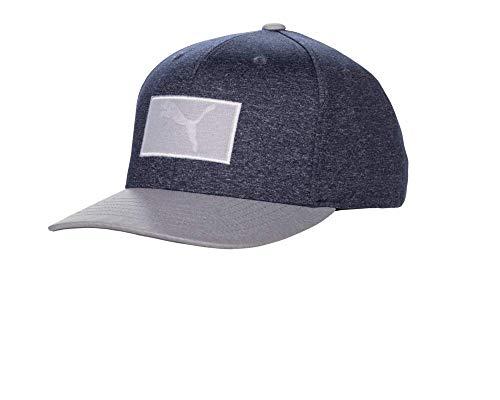 237dddd6 Puma Golf 2019 Men's Utility Patch Snapback Hat (One Size), Peacoat/Grey