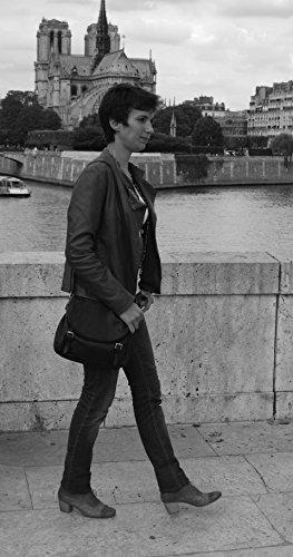 Cuoio Pelle Di Donna Oh Royal Borsa Modello Bag Piena Tracolla A My Blu Pearl 0wwqxt8