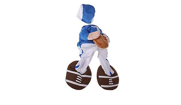 Karazhan – Disfraz de fútbol para Perro Halloween Divertido Rugby ...