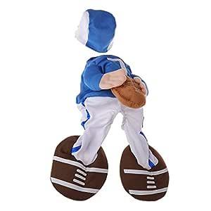 Karazhan - Disfraz de fútbol para Perro Halloween Divertido Rugby ...