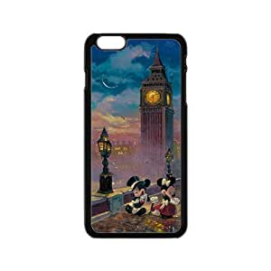 Mickey Mouse under tower Cell Phone Case for Iphone 6