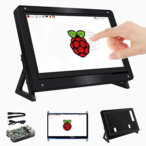 for Raspberry Pi 7 Inch Touchscreen LCD HDMI Input Display w