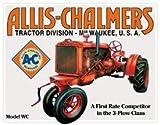 TIN Sign Allis Chalmers - Model U