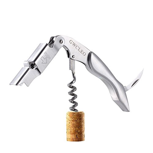 Corkscrew - GWCLEO Premium 3-in-1 Wine Opener with Highly Quality Stainless...