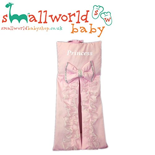Personalised Pink Bling Nappy Stacker Small World Baby Shop