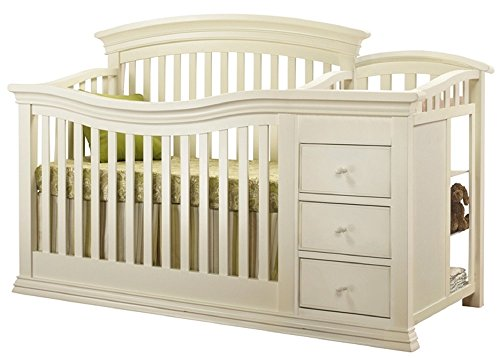 Sorelle Verona 4-in-1 Convertible Crib and Changer, French ()