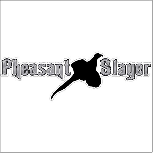 Pheasant Slayer...Hunting Decal Duck Hunting Car Truck Removable Hunter Sticker (6