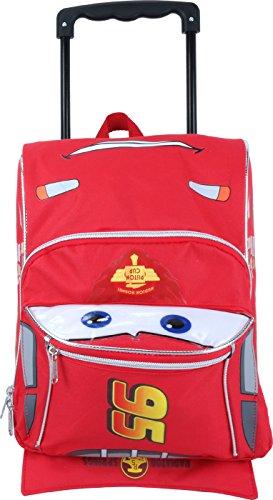 Disney Pixar Cars Toddler 12' Rolling Lightning McQueen backpack