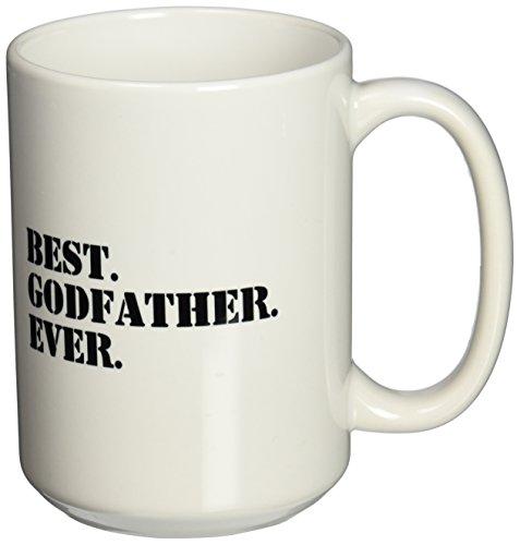 3dRose mug 151497 2 Godfather Godparents 15 Ounce
