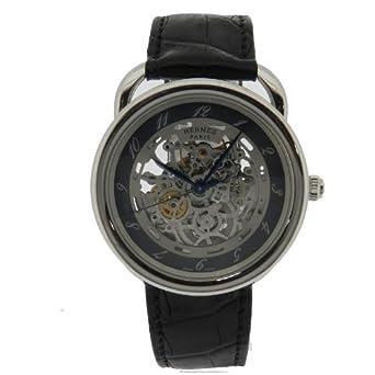 buy popular 59110 9aea7 Amazon   HERMES(エルメス) アルソー スケルトン 腕時計 ...