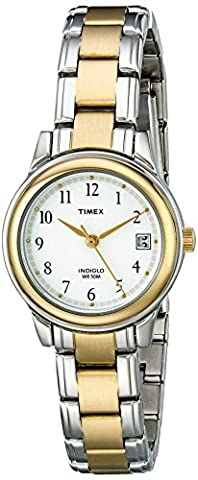 Timex Women's Fashion Two-Tone Bracelet #T25771 - Timex Water Resistant Watch