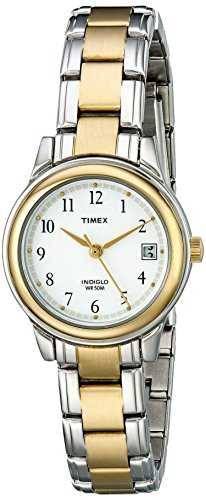 (Timex Women's Fashion Two-Tone Bracelet #T25771)
