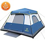 Instant Cabin Tent, 60 Seconds Easy Set Up, 4