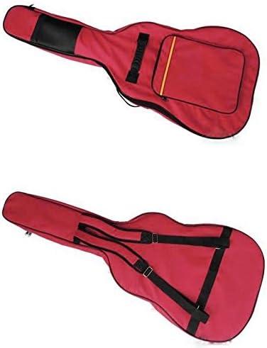 Nylon 3-pocket acolchada para guitarra ajustable para el hombro ...