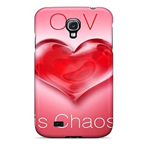 For Galaxy S4 Premium Tpu Case Cover Love Is Chaos Protective Case