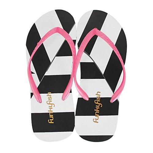 Funky Punky cartamodello spiaggia scarpe misura 37