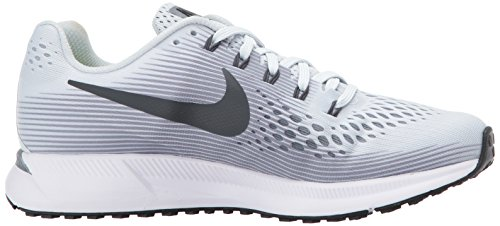 Nike Women's Air Zoom Pegasus 34 Running Shoes-Pure Plantinum/Antracite-6 by Nike (Image #7)