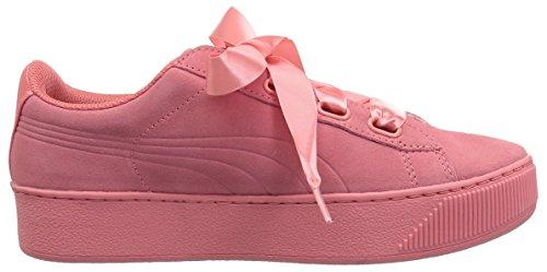 PUMA Women's Vikky Platform Ribbon S Sneaker Shell Pink-shell Pink shop offer buy cheap nicekicks buy cheap prices YNyNEfR