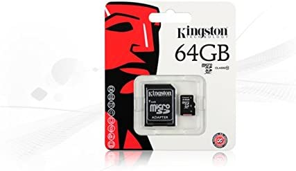 32Mbps // Class 4 Professional Kingston 16GB MicroSDHC Motorola Moto X Play with custom formatting and Standard SD Adapter!