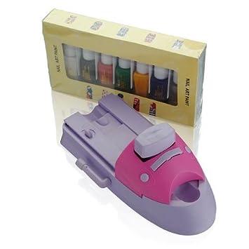 Amazon.com: Impresora Nail Art Acrílico UV DIY máquina de ...