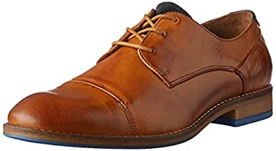 Wild Rhino Men's Nielson Oxfords Shoes, Tan, 6 AU (40 EU)
