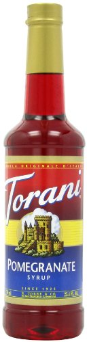 Torani Syrup, Pomegranate, 25.4-Ounce PET - Monin Pomegranate
