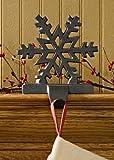 Iron Snowflake Stocking Hanger