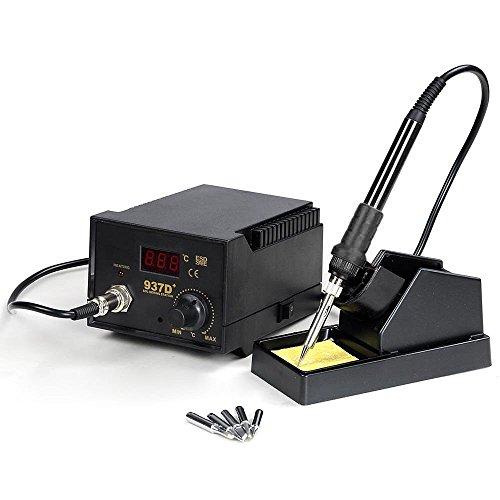 937D+ ESD Soldering Rework Station Digital Adjustable Welding Solder SMD Tool by Sunbizpro (Image #1)