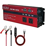 Best Power Inverters - 2000W Power Inverter 3 AC Outlets & 4 Review