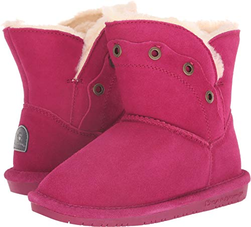 BEARPAW - Youth Gypsy Boots, Size: 4 M US Big Kid, Color: Pom Berry