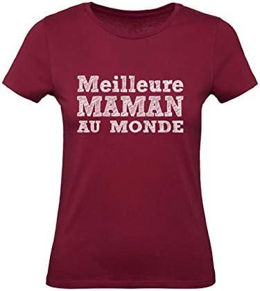 Certifi/ée Meilleure Maman du Monde T-Shirt Premium Femme
