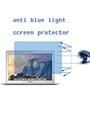 """MacBook Air 11 inch Anti Blue Light Screen Protector,9H Hardness Tempered Glass Screen Protector for MacBook Air 11.6"""" with Filter Out Blue Light Relieve The Fatigue of Eyes"""