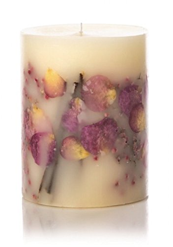 "Rosy Rings Apricot & Rose Botanical Candle 5"" X 6.5"""