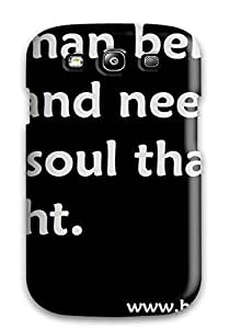 New Valerie Lyn Miller Super Strong Dad Quotes Tpu Case Cover For Galaxy S3