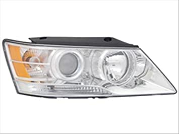 OE Replacement Headlight Assembly HYUNDAI SONATA 2009-2010 Partslink HY2503148 Multiple Manufacturers HY2503148N
