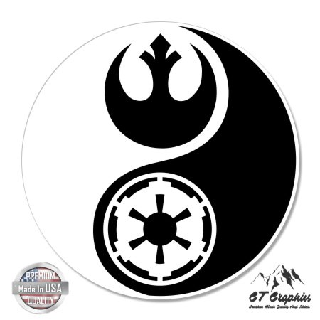 GT Graphics Star Wars Yin Yang - 3