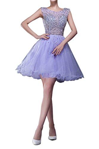 Charm Bridal Short Blue Sequin Junior Girl Summer Cocktail Homecoming Dresses -14-Light blue by Charm Bridal