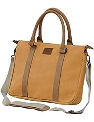 V-PAX Radiant Elegance 16 Cotton Canvas Laptop Briefcase