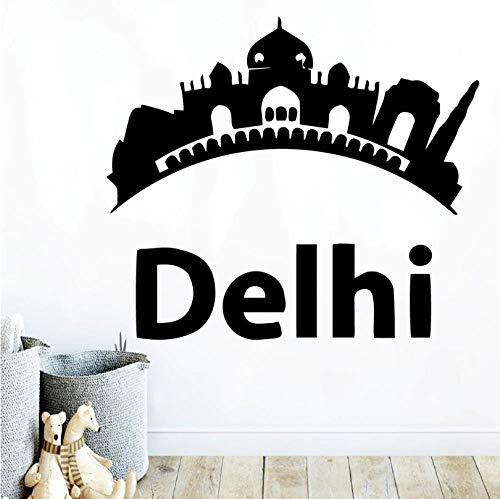 zrisic DIY Art Delhi Self Adhesive Vinyl Waterproof Wall Art Decal Stickers Wall Decoration Murals 2x48cm