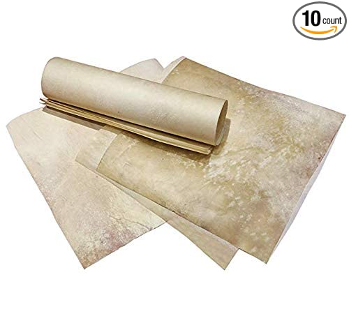 Genuine Parchment:5x7 Inches Real Medieval Parchment//vellum Sheep//goat//calf Skin