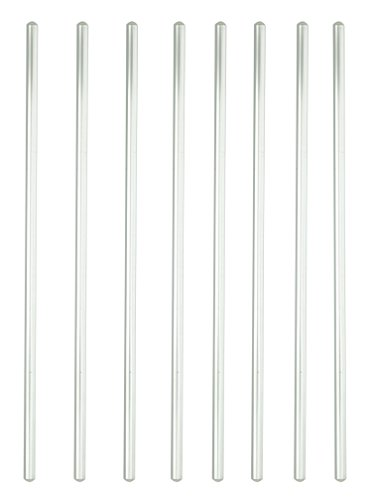 Glass Stirring Rod Glass Stir Stick 12″ Length Glass Stir Rod With Both Ends Round 8pcs/pk
