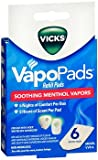 Vicks VapoPads Refill Pads, Menthol - 6 ct, Pack of 2