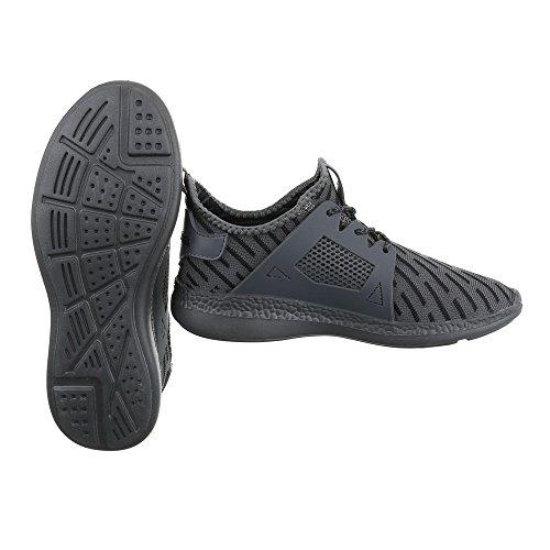 Ital-Design - Zapatillas altas Mujer gris